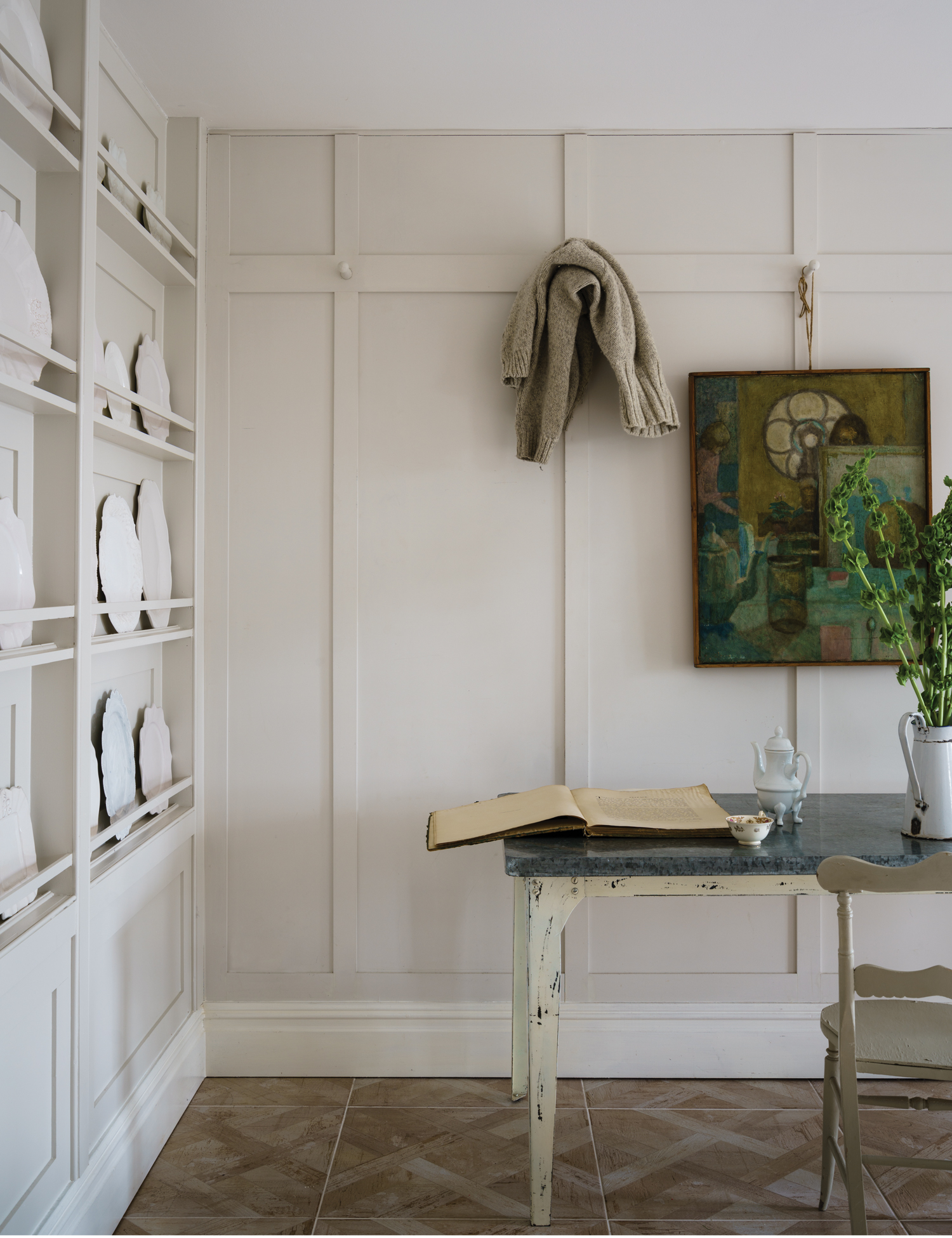 Farrow and Ball School House White